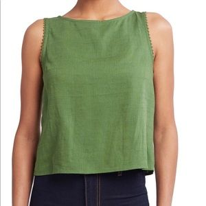 ModCloth Just My Luck Sleeveless Top